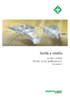 Guide a rotelle